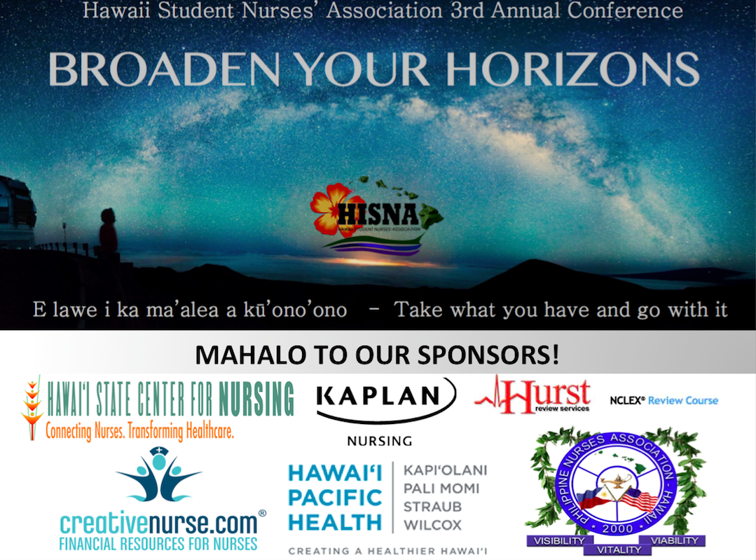 3rd Annual Conference - Hawaii Student Nurses' Association